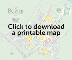 bowie state university campus map Bowie State University Maps Parking bowie state university campus map