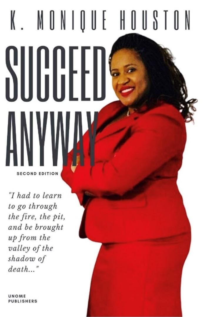 """Succeed Anyway"" book cover"